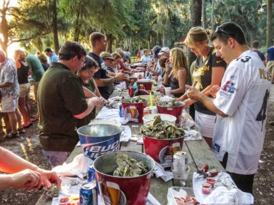 bluffton arts & seafood festival