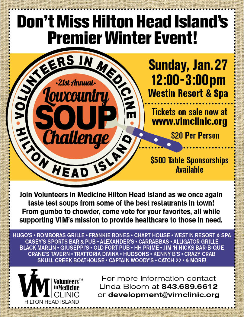 Lowcountry Soup Challenge