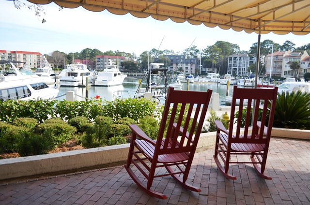 Rocking Chairs in Harbour Town