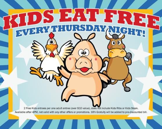 Cool Kids Eat Free!