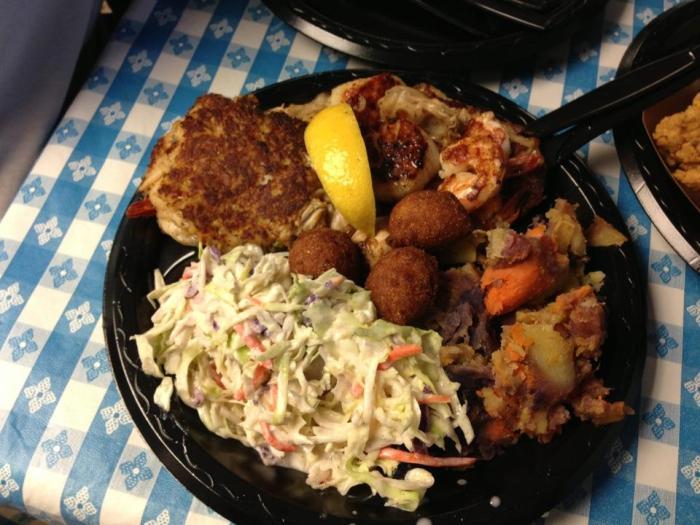 sea shack food