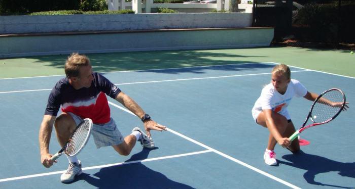 Photo courtesy of Van Der Meer Tennis