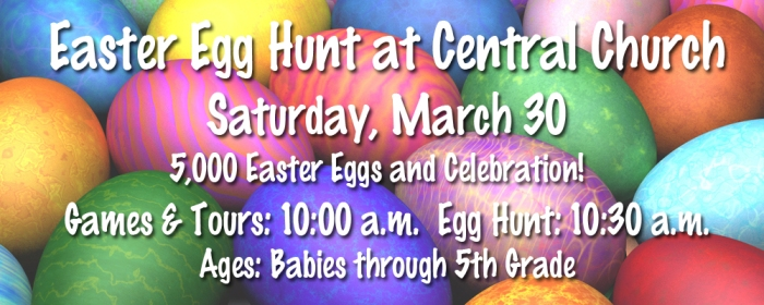 Central Church Easter Egg Hunt