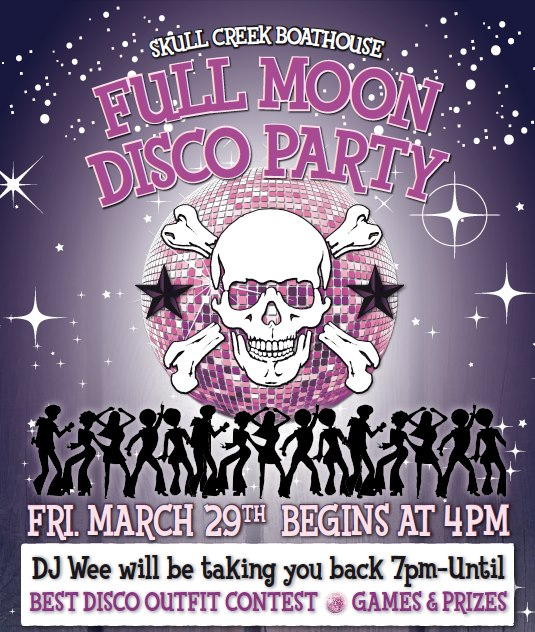 Full Moon Disco Party!