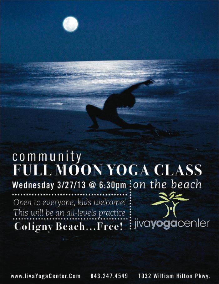 Full Moon Yoga Class!