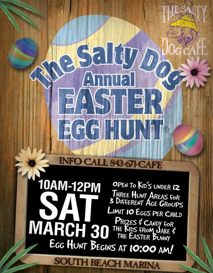 Salty Dog Cafe Easter Egg Hunt