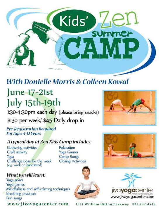 Yoga for Kids Hilton Head