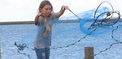 Cast Net on Hilton Head