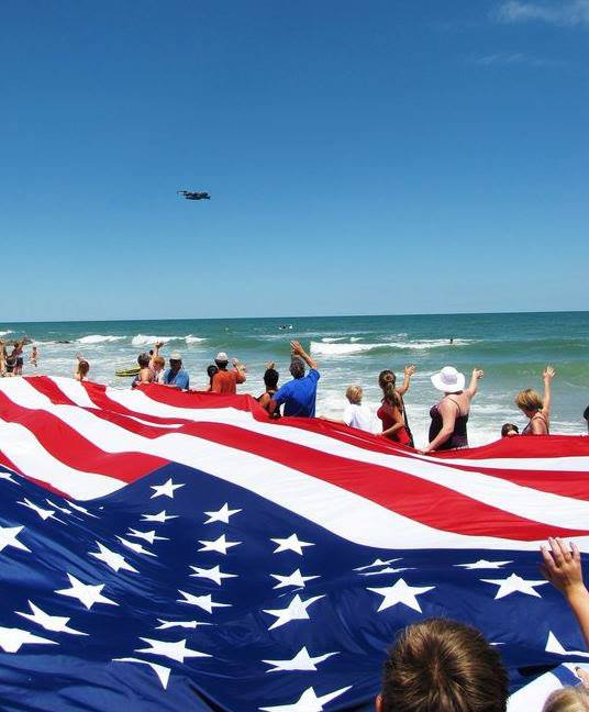 Hilton Head 4th of July Flyover