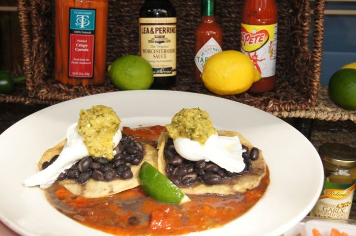 Huevos Rancheros at the Black Marlin