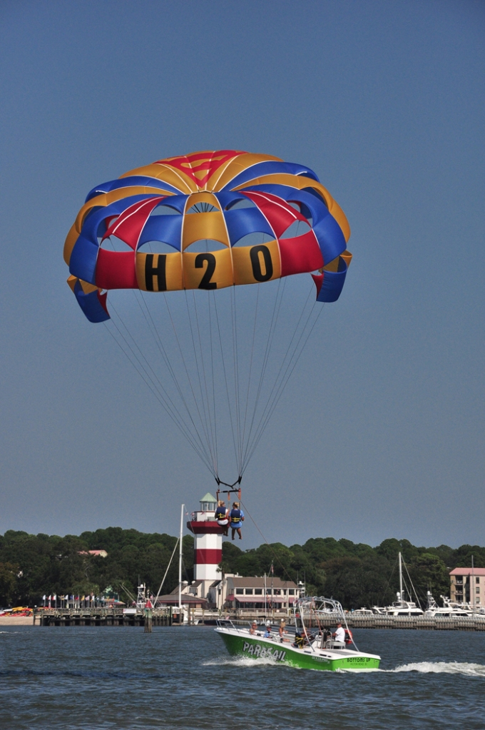 Parasailing on Hilton Head Island