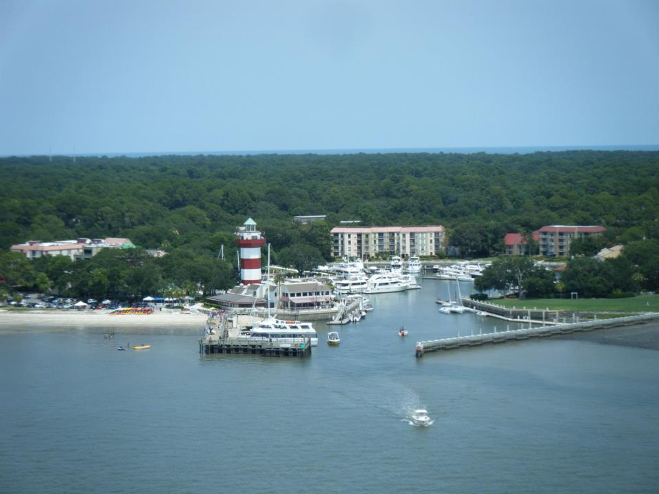 Hilton Head Parasailing View