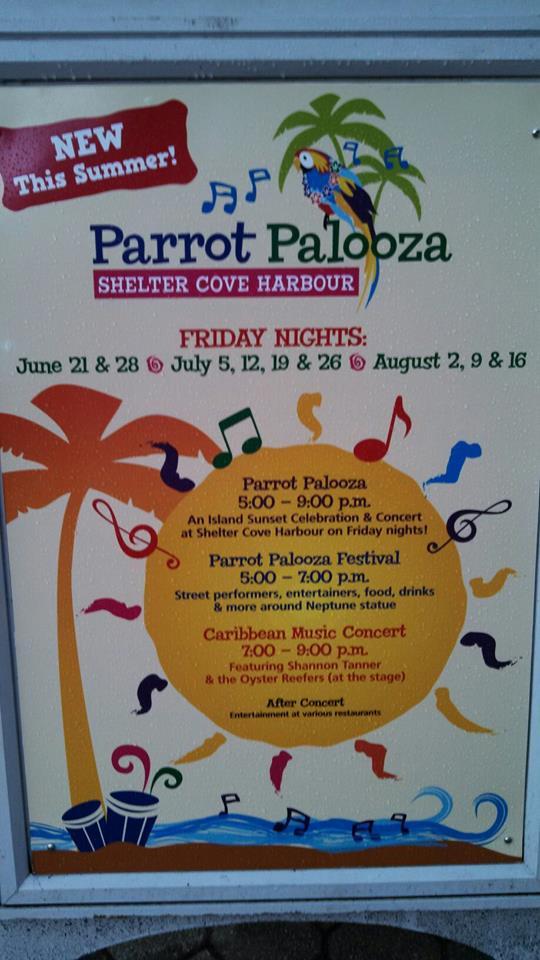 Parrot Palooza Hilton Head
