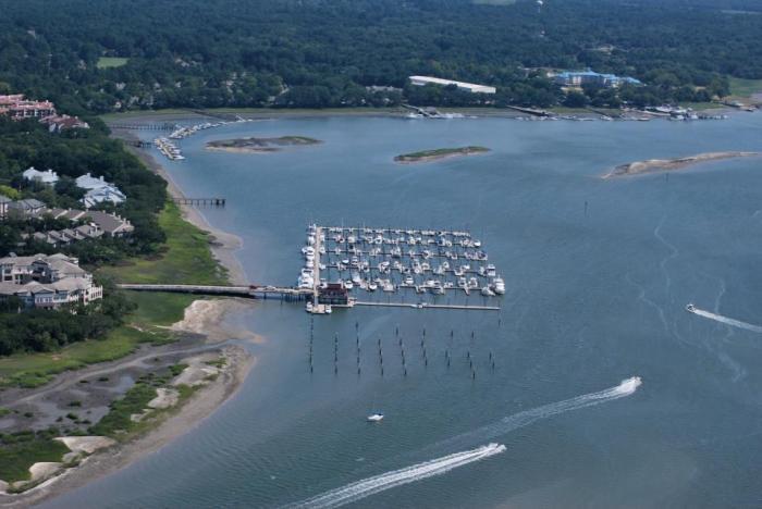 Skull Creek Marina Hilton Head Island