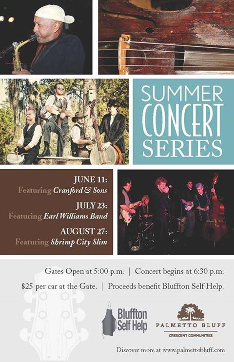 summer concert series Hilton Head