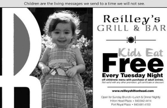 kids eat free on Hilton Head