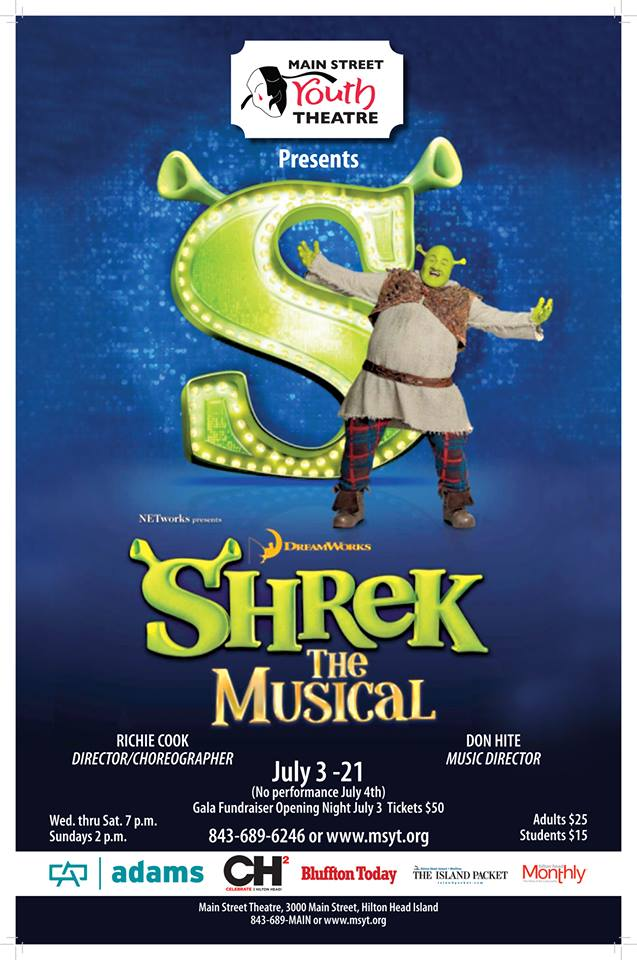 Shrek the Musical Hilton Head