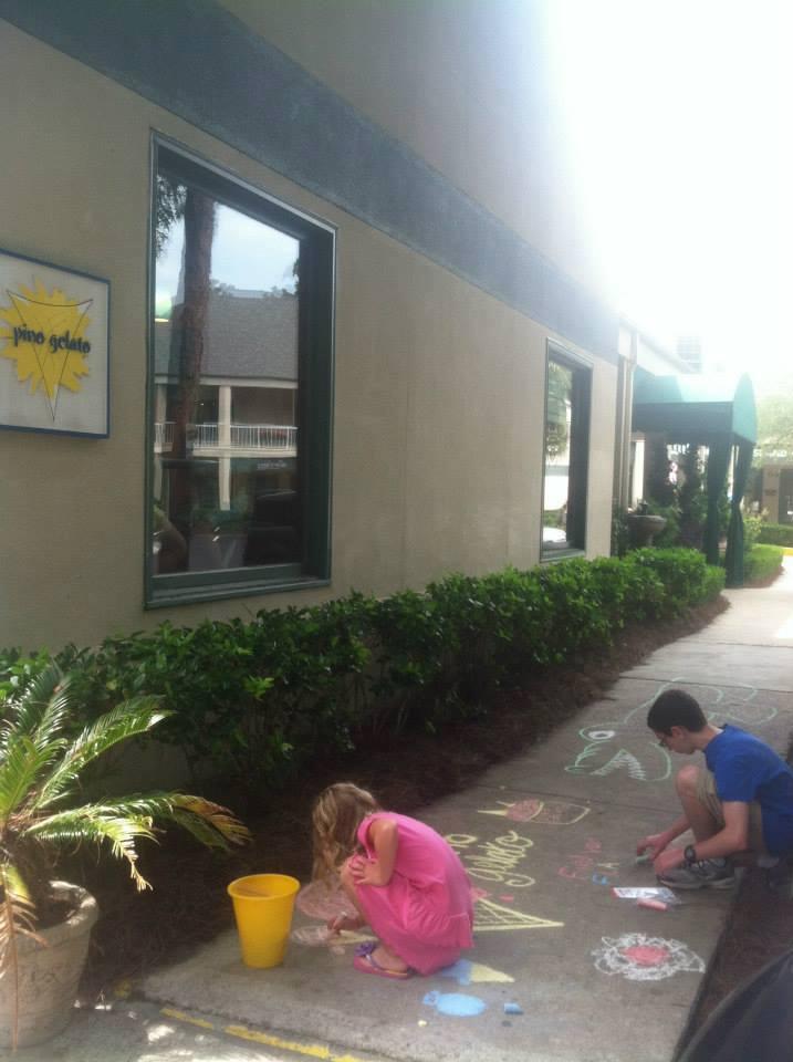 Sidewalk Chalk Art Contest Hilton Head