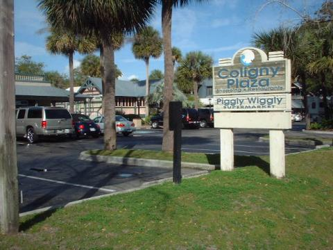 Coligny Plaza Sign