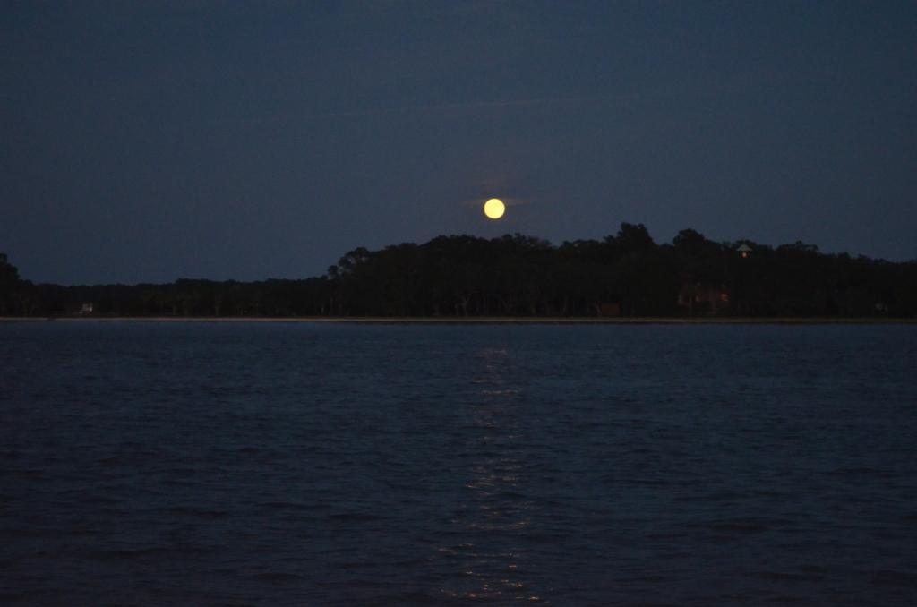 Full Moon on Hilton Head