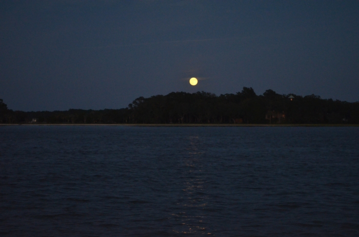 Full Moon on Hilton Head