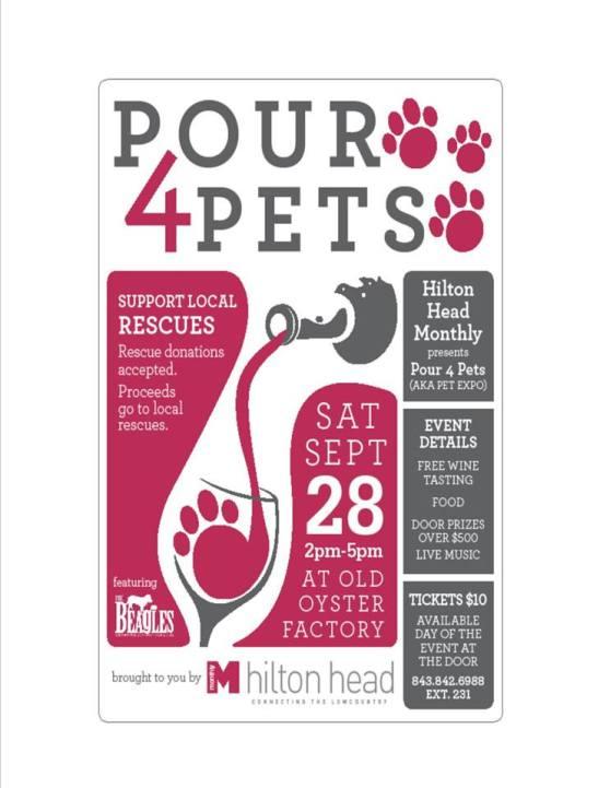 Pour for pets
