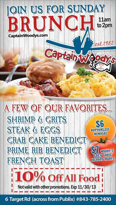 Captain Woodys Brunch