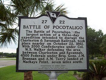 battle of pocotaligo