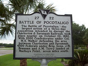 battle of pocotaligo