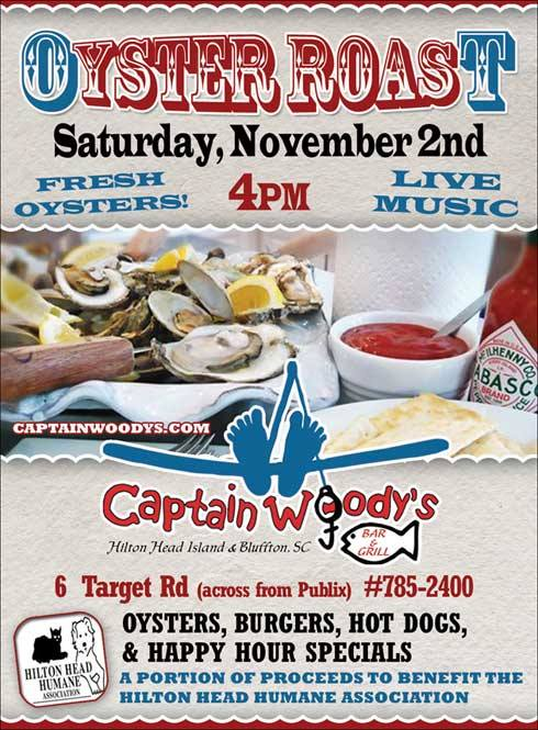Oyster Roast on Hilton Head Island