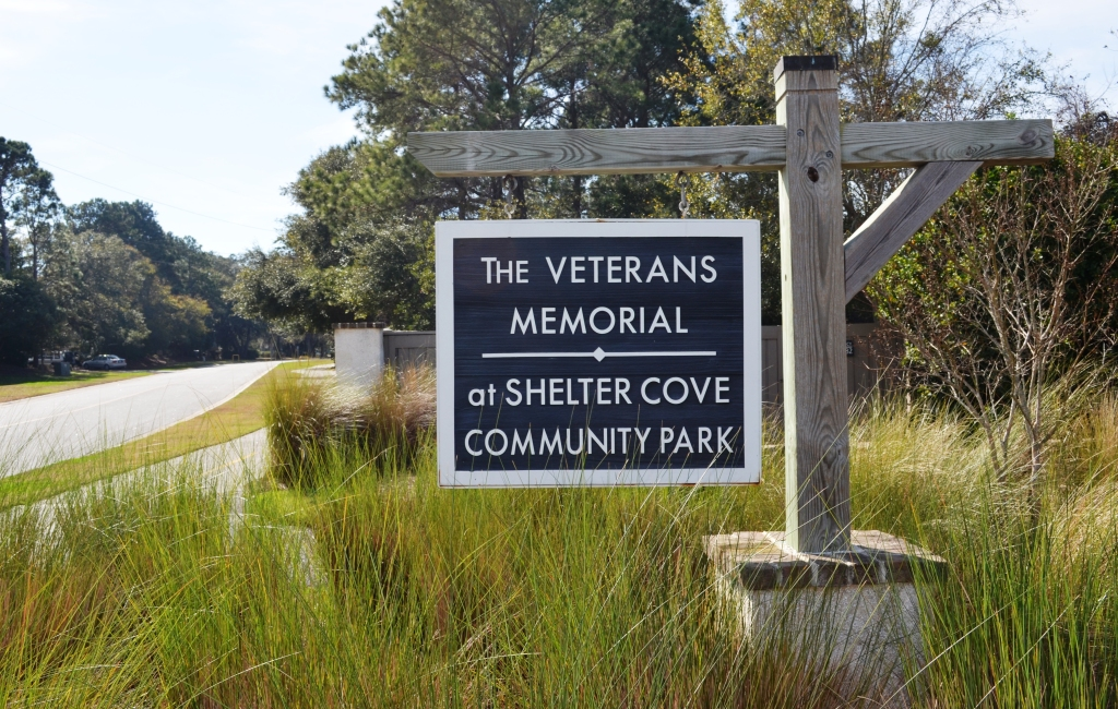 The Veterans Memorial on Hilton Head