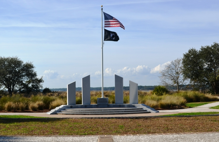 Veterans Memorial on Hilton Head