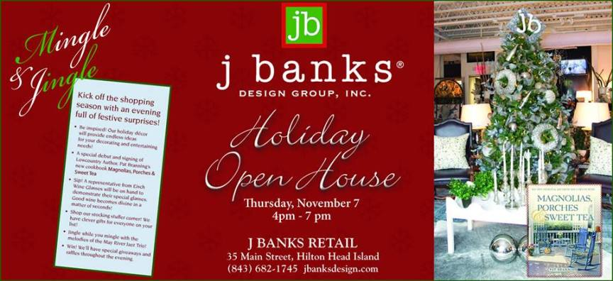 J Banks Holiday Open House