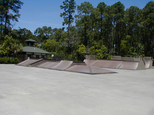 Skateboarding Hilton Head