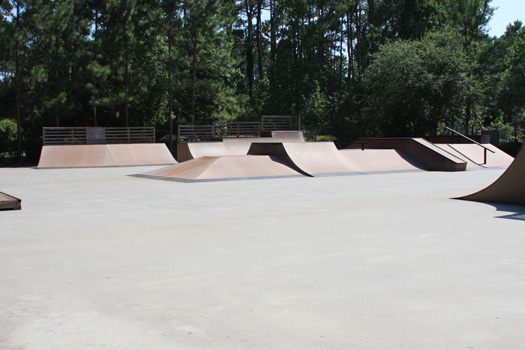 Skateboarding on Hilton Head 2