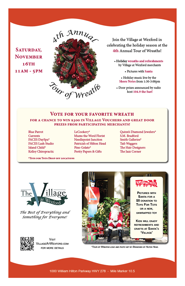 Tour of Wreaths