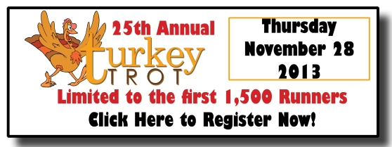 turkey trot registration button
