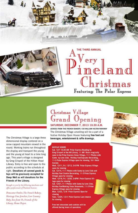 Christmas Village Pineland