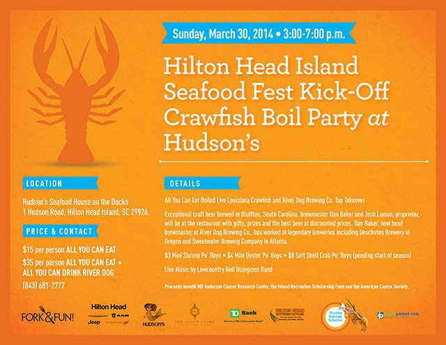 hudsons crawfish boil
