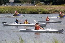 lots o kayaks
