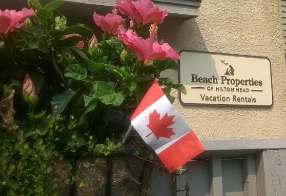 BP Canadian Flag