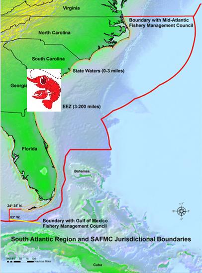 se coast map