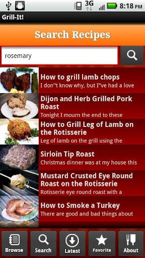 grilling app