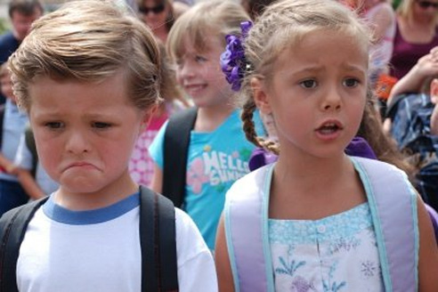 unhappy back to school