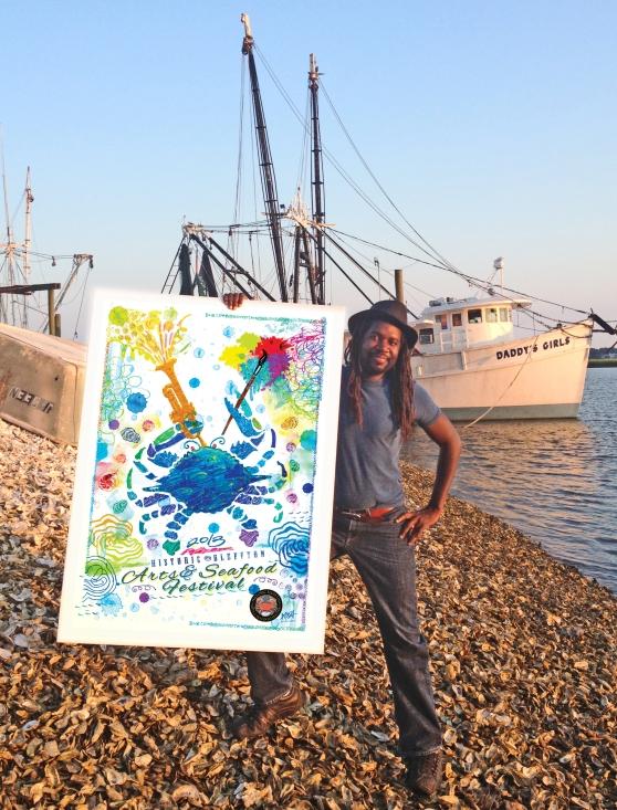 Amiri-Farris-Arts-seafood-festival-pic1