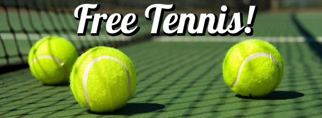 Free Tennis Web Banner