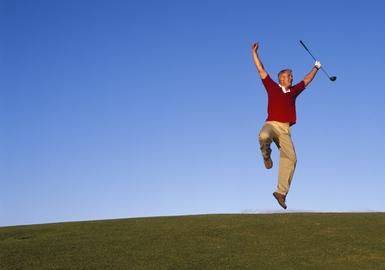 celebrating-golfer