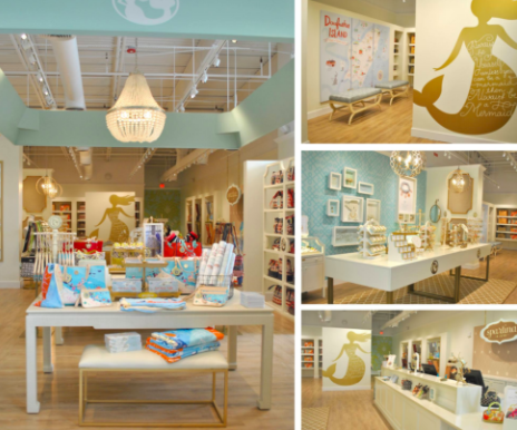 Inside of local Spartina store